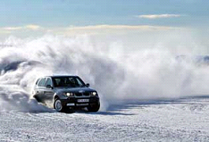 Ice Rally Safari or a Grand Prix on a Lake or at Sea