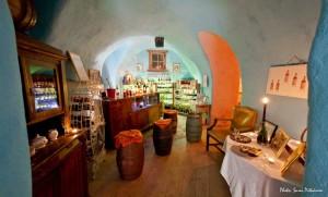 Luscher & Matiesen wine cellar