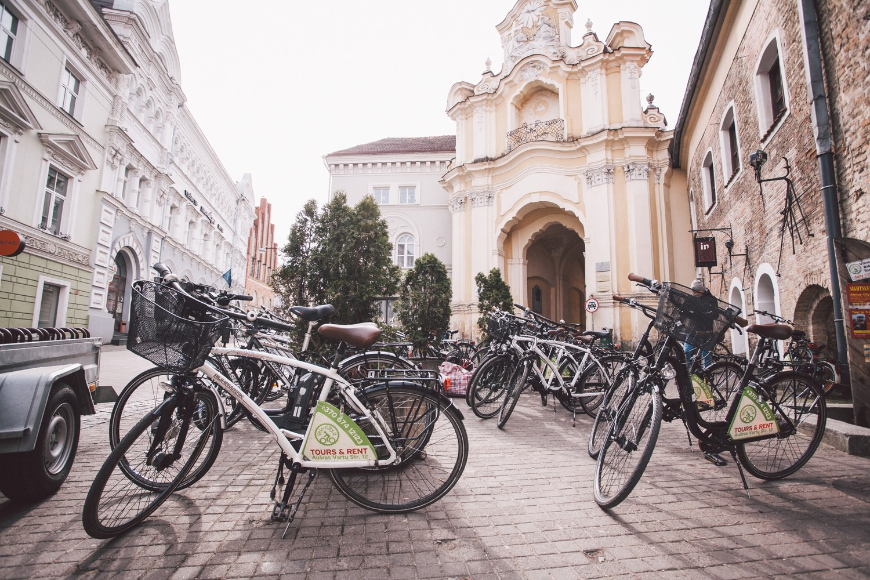 "Incentive idea: bicycle city tour ""All sides of Vilnius"""