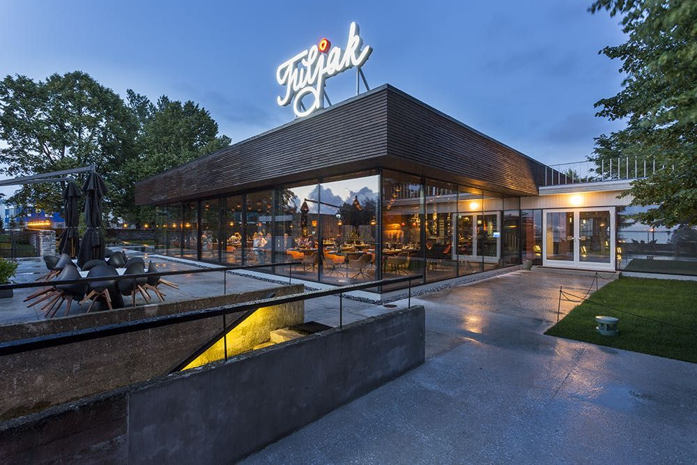 A new restaurant Tuljak in Tallinn
