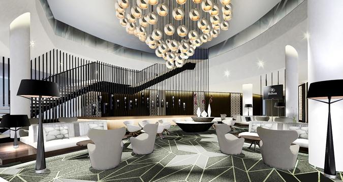 Brand new Hilton Tallinn Park hotel