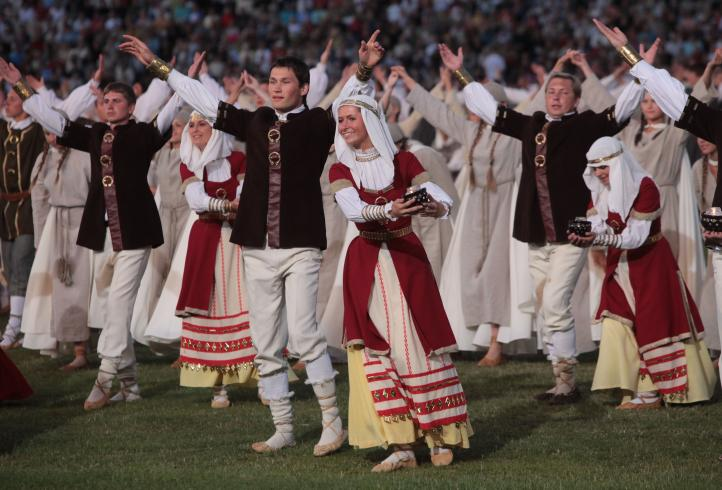 Centenary Song Festival in Lithuania, 1st-6th of July