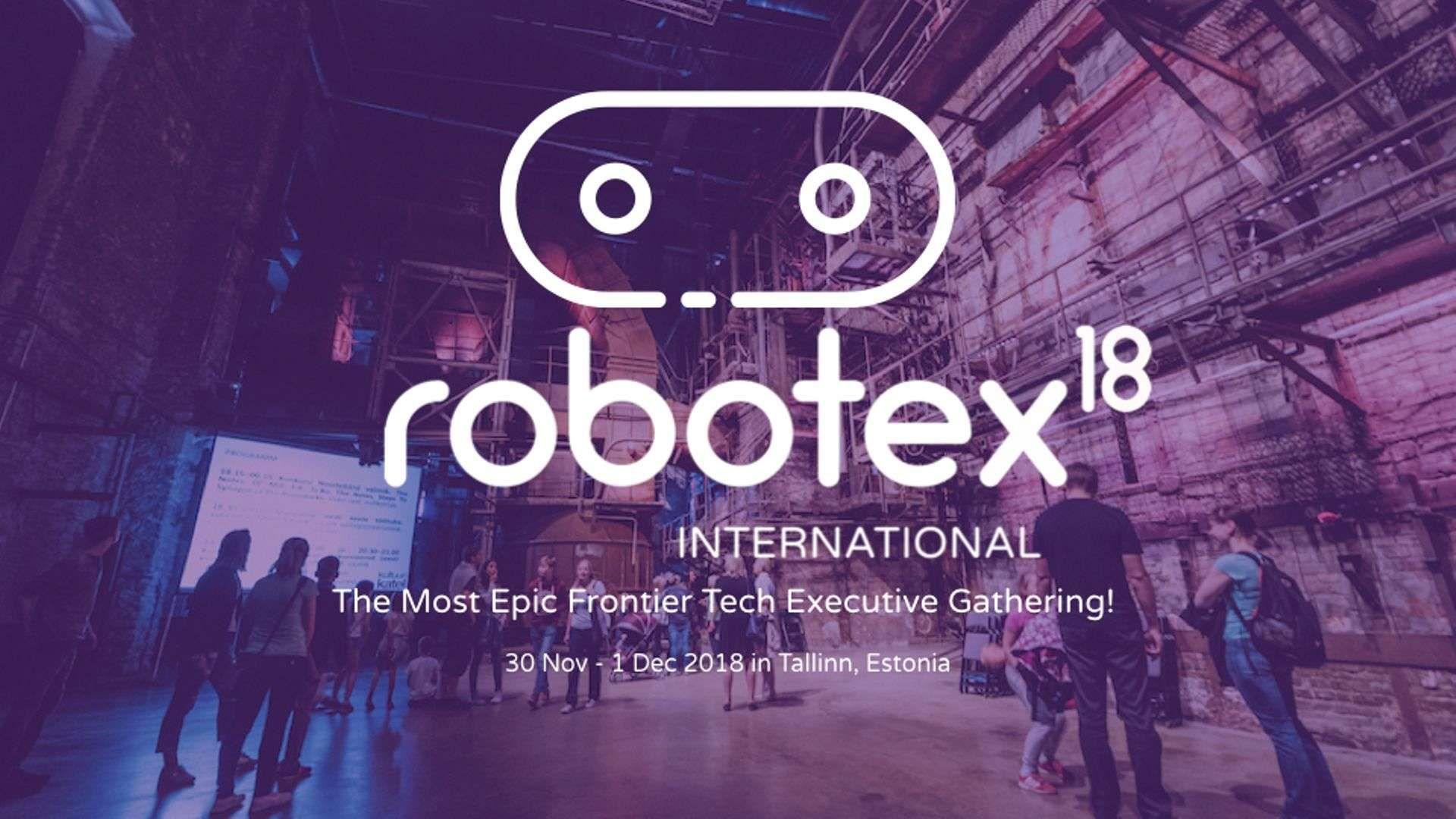 Robotex International 2018
