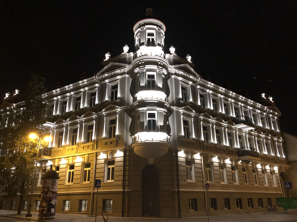 New boutique hotel in Vilnius' Old Town in October 2018